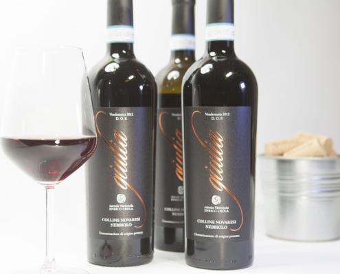 Nebbiolo Alto Piemonte - Bottiglie di Giulia